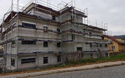 Neubau eines Mehrfamilienhauses in Jena