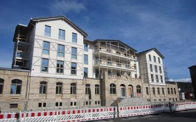 Sanierung Bahnhof in Bad Salzungen