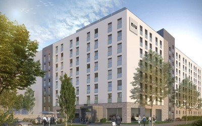 Novum Hotel, Leonardo-da-Vinci-Allee in Frankfurt